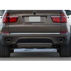 Rear bumper sill cover for BMW X 5 2007-[...]