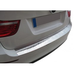 Rear bumper sill cover alu for 2008 BMW X 6-[...]