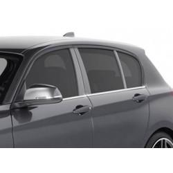 Abaixe o vidro contorno cromado para BMW série 1 2011-[...]