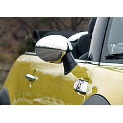 Covers mirrors stainless chrome for MINI COOPER 2006-[...]