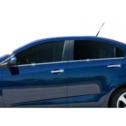 Chevrolet AVEO chrome door handle covers