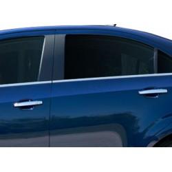Window trim cover chrom alu for 2012 Chevrolet AVEO-[...]