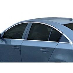 Window trim cover chrom alu for Chevrolet CRUZE 2009-[...]
