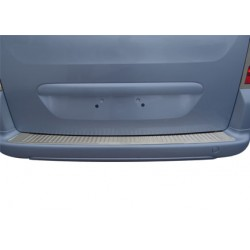 Rear bumper sill cover alu for Citroen BERLINGO II 2008-[...]