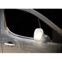 Window trim cover chrom alu for Citroen BERLINGO II 2008-2012