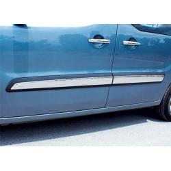 Covers wands doors chrome for Citroen BERLINGO II 2008 - 2012
