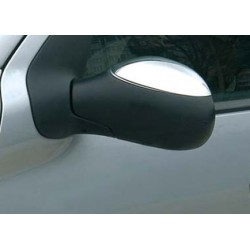 Covers mirrors stainless chrome for Citroen C3 2002 - 2009