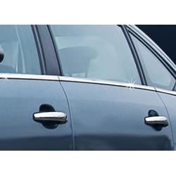 Window trim cover chrom alu for Citroen C4 HB 2004-2010