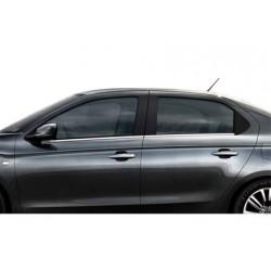 Window trim cover chrom alu for Citroen C-ELYSEE 2012-[...]