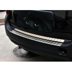 Rear bumper sill cover alu for Dacia DUSTER 2010-[...]