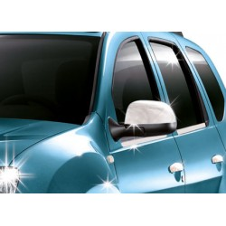 Covers mirrors stainless chrome for Dacia DUSTER 2010 - 2012