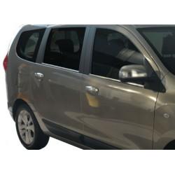 Dacia LODGY chrome door handle covers