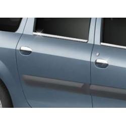 Dacia LOGAN Facelift chrome door handle covers