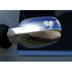 Covers mirrors stainless chrome for Dacia LOGAN Facelift 2008-[...]