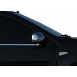 Covers mirrors stainless chrome for Dacia LOGAN MCV 2006 - 2012