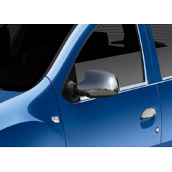 Covers mirrors stainless chrome for Dacia LOGAN MCV 2014-[...]