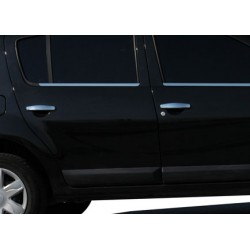 Dacia SANDERO I chrome door handle covers
