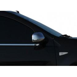 Covers mirrors stainless chrome for Dacia SANDERO I 2008-2012