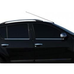 Window trim cover chrom alu for Dacia SANDERO I 2008-2012