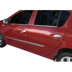 Dacia SANDERO II chrome door handle covers