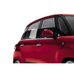 Window trim cover chrom alu for Fiat 500L 2013-[...]