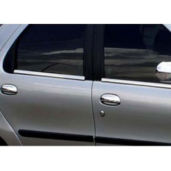 Window trim cover chrom alu for Fiat ALBEA 2002-2012