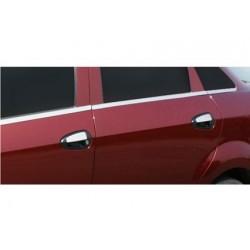 Fiat GRANDE PUNTO 5 door chrome door handle covers