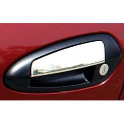 Fiat GRANDE PUNTO 3 door chrome door handle covers