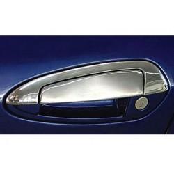 Chrome frame for Fiat LINEA 4 doors door handle covers