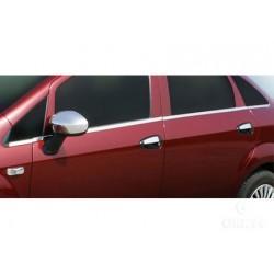 Window trim cover chrom alu for Fiat LINEA 2007-[...]
