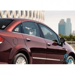 Covers rods doors chrome for Fiat LINEA Facelift 2007-[...]