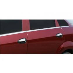 Fiat PUNTO EVO 5-door chrome door handle covers