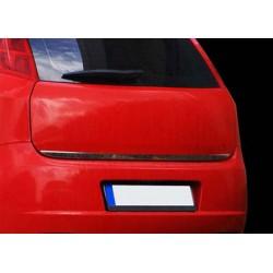 Rear bumper sill cover for Fiat PUNTO EVO 2009-2012