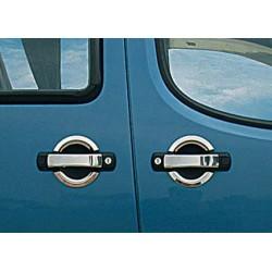 Fiat DOBLO I 3 door chrome door handle covers