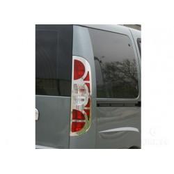 Contour chrome for taillights Fiat DOBLÒ I Facelift 2006-[...]