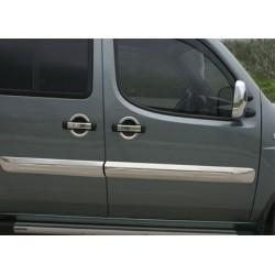 Covers doors chrome for Fiat DOBLO Rod I 2000-2006