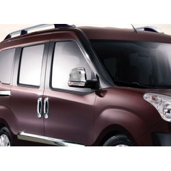 Covers mirrors stainless chrome for Fiat DOBLO II 2010-[...]