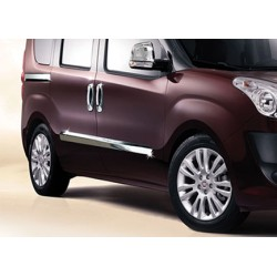 Covers rods doors chrome for Fiat DOBLO II 2010-[...]