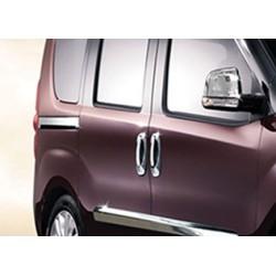 Moulding chrome sliding door notch Fiat DOBLO II 2010-[...]