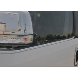 Window trim cover chrom alu for Fiat DOBLO II 2010-[...]