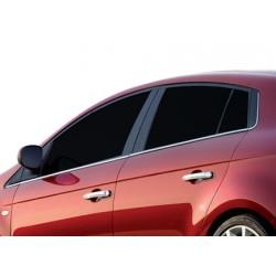Window trim cover chrom alu for Fiat BRAVO 2010-[...]