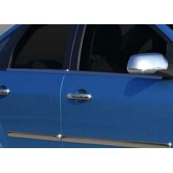 Window trim cover chrom alu for Ford FOCUS II 2005-2008