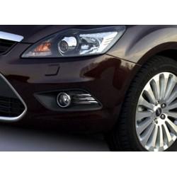 Contour chrome for Ford FOCUS II Facelift 2008-2011 fog lights