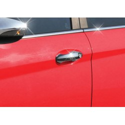 For Ford FIESTA V 2002-2009 chrome door handle covers