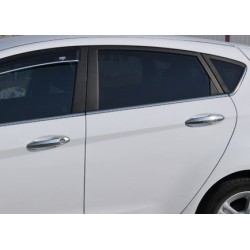 Covers for Ford FIESTA chrome door handle - keyless
