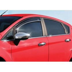 Window trim cover chrom alu for Ford FIESTA VI 2009-[...]