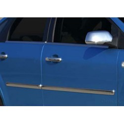Covers doors for Ford C - MAX I 2003-2010 chrome rods
