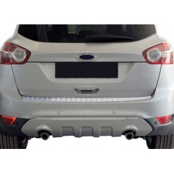 Rear bumper sill cover alu for Ford KUGA 2008-2013