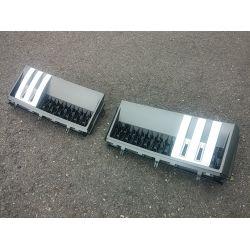 Grilles d'ailes pour Range pour Rover 2011 - Gris noir argent