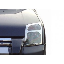 Contour chrome front headlights Ford CONNECT 2009-[...]
